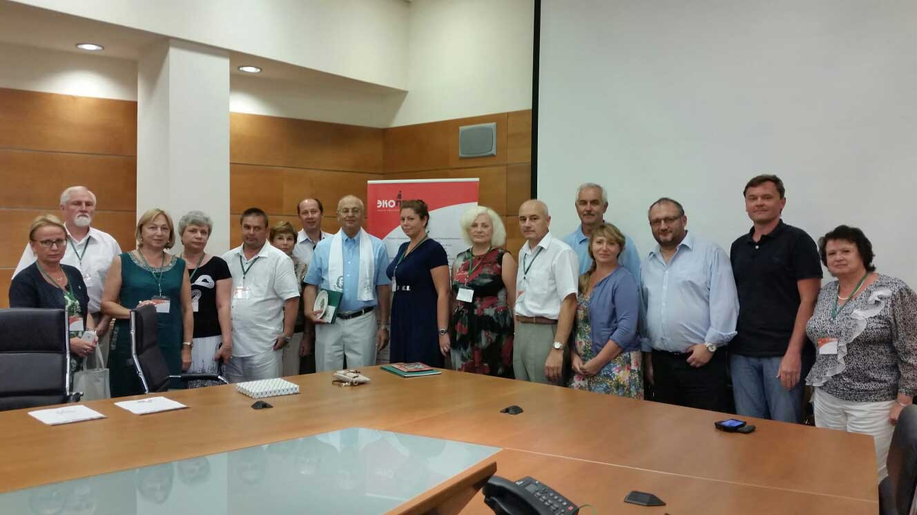 <p>Израиль. Посещение униерситета Бэн-ГурионаЭКОПРОМ 2014</p>
